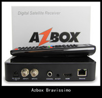 azbox bravissimo twin hd - Azbox Bravissimo HD Satellite Receiver Twin Tuner Support Nagra3 Decoder DHL freeshipping