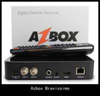 azbox bravissimo hd - Azbox Bravissimo HD Satellite Receiver Twin Tuner Support Nagra3 Decoder DHL freeshipping