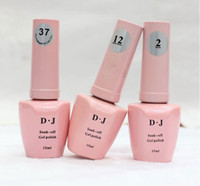 Wholesale DJ UV Gel Nail Polish Soak Off UV Polish Gel ml Nail Art Nail UV LED Gel Polish Coat colors