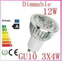 Wholesale 1X GU10 W x3W Led Lamp V Spotlight CREE LED High Power Led Light Led Bulbs free ship