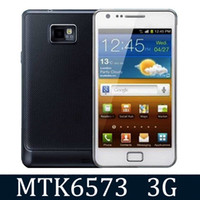 Wholesale A9100 MTK6573 G WCDMA inch android WiFi GPS dual sim Unlocked efit cell phone hdc i9100 S2