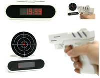 alarm clock pistol - GUN ALARM CLOCK Pistol shooting ALARM CLOCK loon ALARM CLOCK
