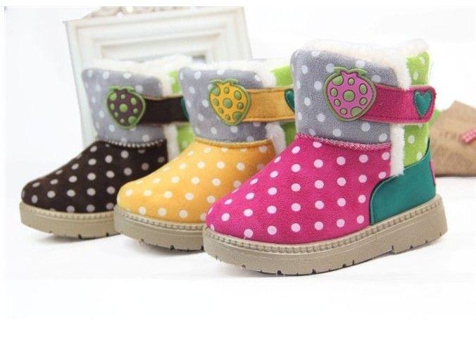 Baby Girl Winter Boots Size 5 | Homewood Mountain Ski Resort