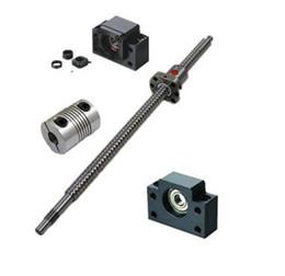 Wholesale 1pcs antibacklash ball screw L300mm C7 BK BF12 mm couplers