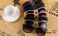 Wholesale 1PC Free Shipment Wood Sunglasses Designer Bamboo Sunglass Eyewear glasses UV400 Protection