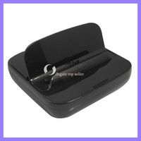 Wholesale For Samsung Galaxy Note GT N7100 Black Sync Dock Charger Charging Station Holder