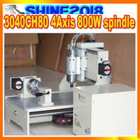 Wholesale CNC CH80 axis Engraving milling and drilling machine with W water cooling spindle motor