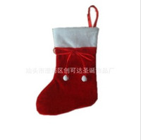 Wholesale Christmas stocking Little red sox can put the candy Christmas Gift cm SDW26