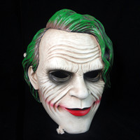 Wholesale Halloween Mask Amusement Gifts Funny Toys Batman Knight Mask Clown Mask Flim Theme Enshrinement Version High quality Resin
