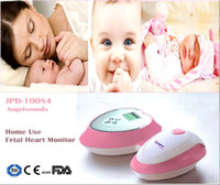 Wholesale FREE SHIP ANGELSOUNDS FETAL DOPPLER JPD S4 HOME USE ANGEL SOUND HEART RATE PRENATAL BABY MONITOR