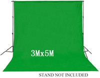 Wholesale Mx5M ftx16 ft Cotton Muslin Backdrop Studio Photography Chromakey Background Solid Green Grey Blue White Color