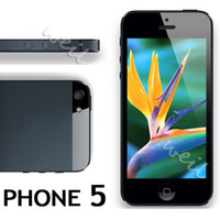 Wholesale 5S V5 HD5 unlocked cell phone support wifi tv bluetooth dual sim dual camera