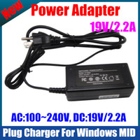 Wholesale Windows Charger Power Adapter DC V A AC V Fit to N2600 N455 Z530 Tablet PC UMPC