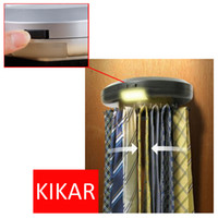 belt rack - KIKAR Electric Motorized Neck Tie Hanger Automatic Revolving Belt Rack Scarf Organiser Electronic