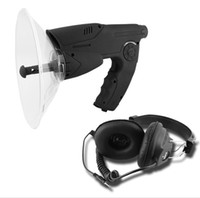 Wholesale Sound Amplifier Parabolic Mic Voice Bug Monocular Bionics Ear Listening Bird Watcher Hidden Camera