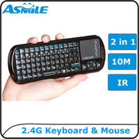 Wholesale Handheld keyboard and mouse supplier mini gaming mouse g wireless gaming