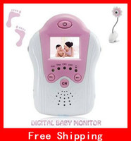 Wholesale Creative Pink Inch Wireless Baby Monitor GHz Digital Video Camera Portable Cordless Flowerlike