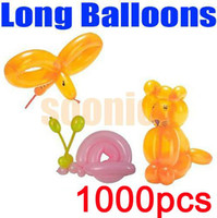 Wholesale Long Balloons DIY Animal Tying Making Mixed Colors Latex Twist Assorted Party Free Express