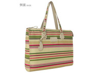 Wholesale 1PSCS The Rhine Kate co fashion stripes Ms casual inch inch laptop bag