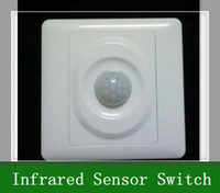 Wholesale 5pcs Wall Mount Motion Automatic Infrared Sensor Switch V AC240V
