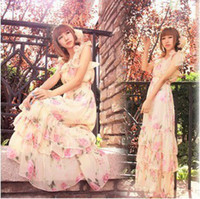 Wholesale summer spaghetti strap silk fairy strapless maxi dress