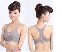 Spandex aa underwear - The absorb sweat Fitness clothing movement running vest bra female sports recoil underwear girl vest