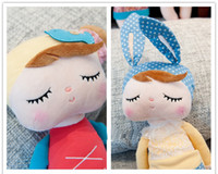 Wholesale Lovely Stuffed Doll METOO Plush Toys Rabbit bee cartoon baby Angela doll Christmas gift