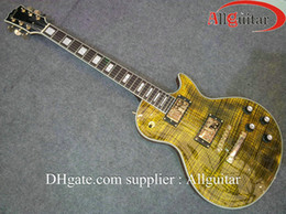 2012 New Style custom shop yellow Tigrina body electric guitar China Guitar