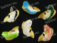 Wholesale MIC Mix Color Cloisonne Beautiful Fish beads1