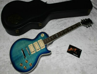 Hollow Body kiss - new arrival KISS guitar Ace Frehley Electric Guitar in Bule