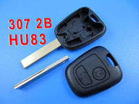 Wholesale HU83 Remote Key Shell button for Peugeot Same Size as Original