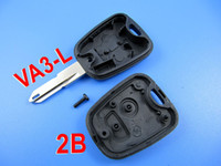 Wholesale VA3 L Remote Key Shell button for Peugeot Same Size as Original