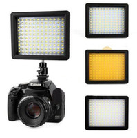 Wholesale NEW WanSen W160 LED Video Camera Light For CANON NIKON much stronger than CN