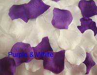Wholesale 1000 High Density Silk Rose Petals Flowers Confetti Wedding Table Decoration