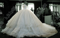 Portrait best portraits - Best selling New Sexy Sweetheart Strapless Net Wedding Dresses Bride Gowns Ball Gown