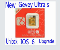 Wholesale New GEVEY S UNLOCK Multi network Card for iPhone S iOS ios Automatic