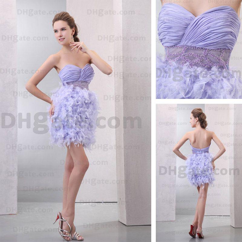 Lavender Cocktail Dresses