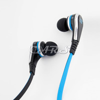 Wired MP3/MP4 Stereo Hot selling STREET by 50 Cent Wired In-Ear Headphones with control talk - White Black by SMS Audio