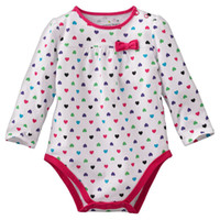 Wholesale baby rompers onesies bodysuit girls long sleeve tops outfit blouse shirts jumpsuits babywear ZW876