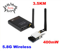 8 Channel wireless video transmitter receiver - 5 G Wireless AV video audio transmitter receiver for transmitting wireless camera fpv