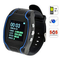 Wholesale CRT19N GPS Tracker Wrist Watch Real time GSM GPRS Security Surveillance Quad Band SOS