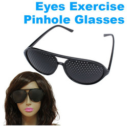 Wholesale PIN HOLE Perforating GLASSES for Relaxing Training EYE
