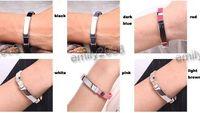 band ti - Retail Balance Bracelet Ge Ti Tourmaline Health Sport Wristband Band Ship To All Over The World