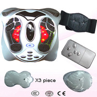 Wholesale Infrared amp Ion Physical Magnetism Therapy Health Protection Detox Foot Massager Machine Foot SPA