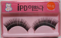Wholesale Cat Head Eyelashes Hard Box Individual Long Fake Lashes Extensions Drop Shipping Pair