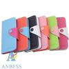 Wallet 3 Credit Card Slot Flip Stand Leather Case Back Cover for iPhone 5 5G iPhone5