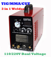 Wholesale Exclusive New Product in machine A TIG MMA welding machine and A CUT plasma cutter TSC