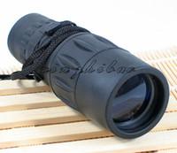 Binoculars Monocular 16x52 New Arrivals 16x52 Monocular Telescopes Black Rubber Watch Hunting Camping Outdoor