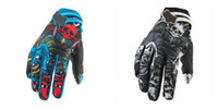 Hot Best Motocross gloves Skull moto bicycle dirt bike Bicyc...