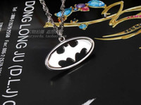 batman begins - Batman The Dark Knight Rises Silver Necklace Batman Begins Symbol Pendant Chain